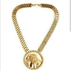 Gold Rollie Link Style Necklace